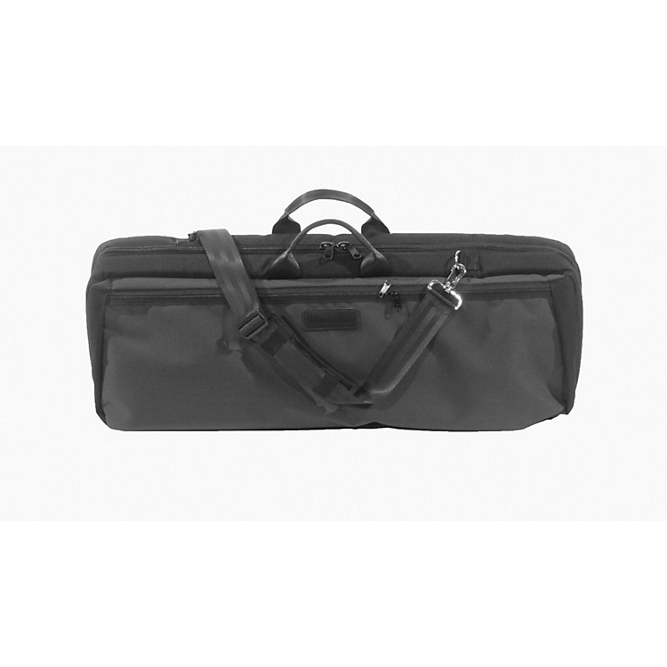 MooradianOblong Violin Case Slip-On CoverBlack with Backpack Straps