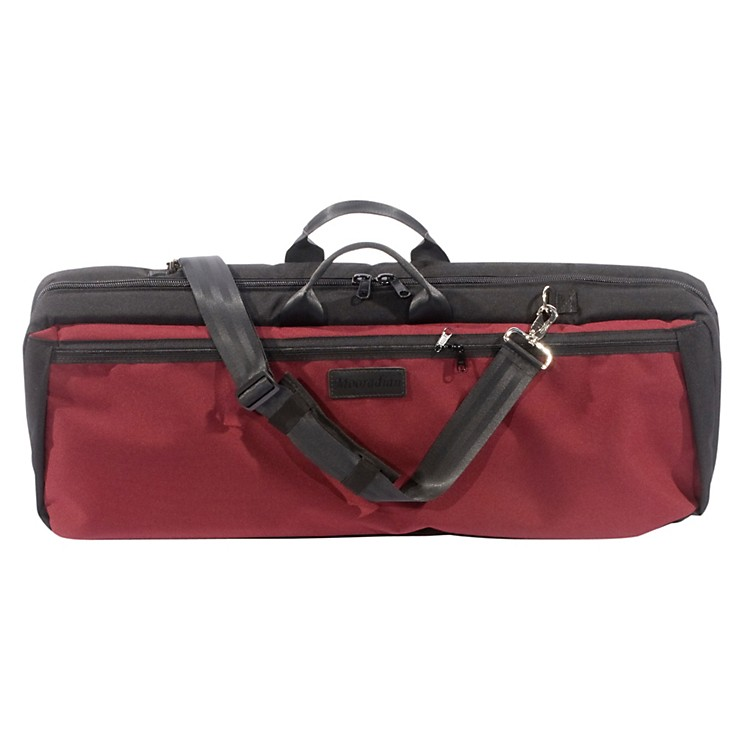Mooradian Oblong Violin Case Slip-On Cover Burgundy with Shoulder Strap