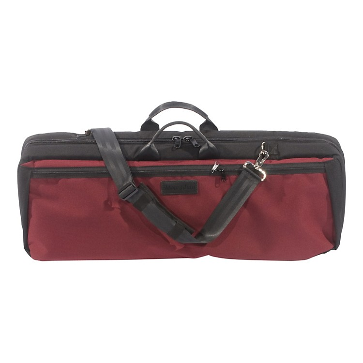 MooradianOblong Violin Case Slip-On Cover with Combination StrapsBurgundy