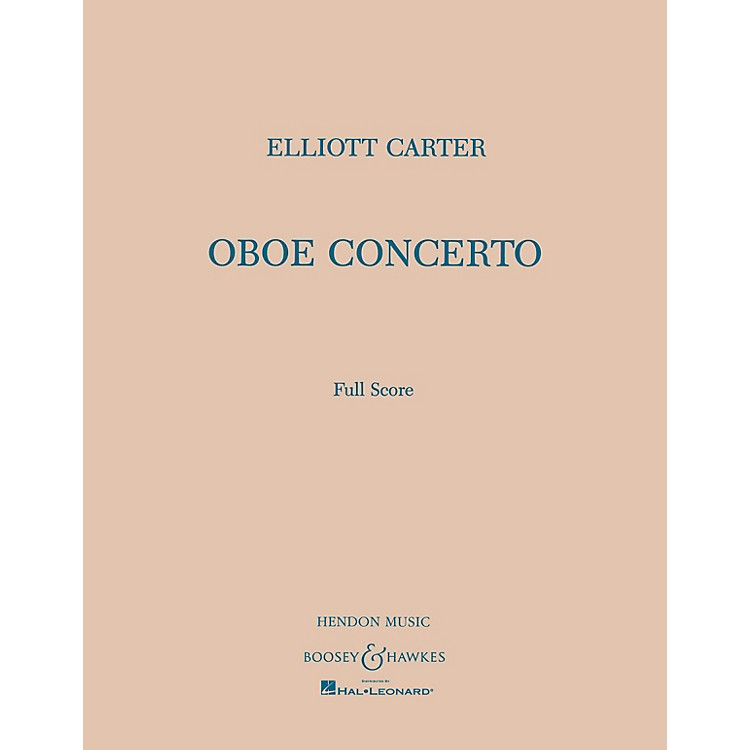 Boosey and HawkesOboe Conc Boosey & Hawkes Scores/Books Series by Elliott Carter