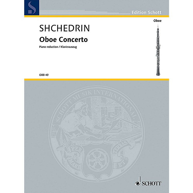 SchottOboe Conc (Oboe and Piano Reduction) Woodwind Series