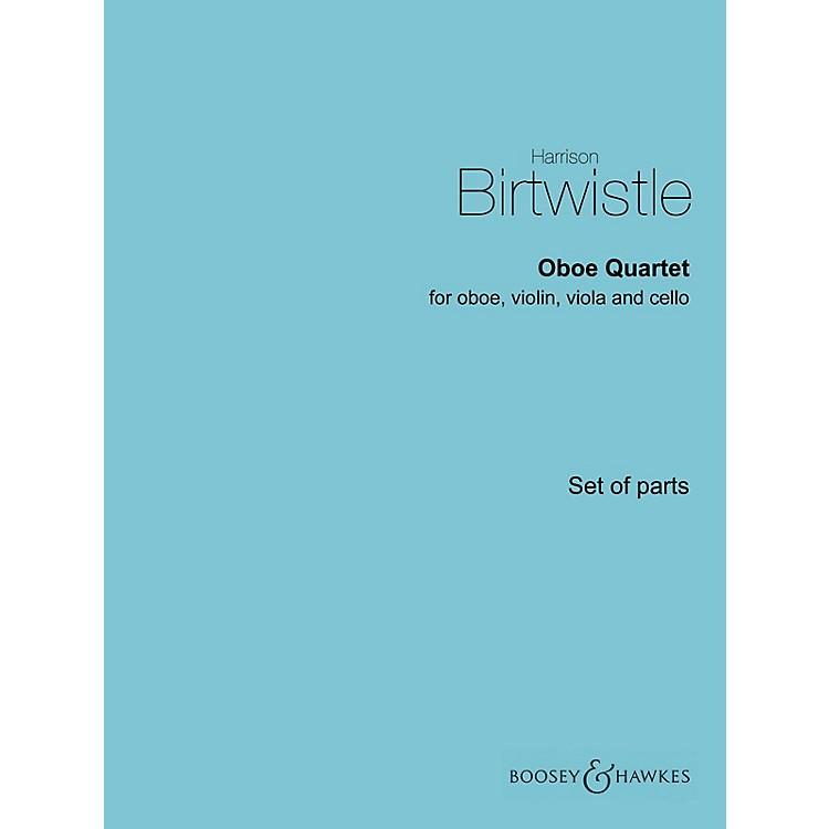 Boosey and HawkesOboe Quartet Boosey & Hawkes Chamber Music Series by Harrison Birtwistle