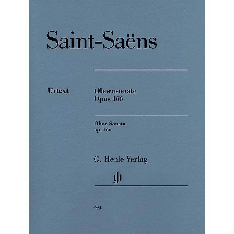G. Henle VerlagOboe Sonata, Op 166 Henle Music Folios Book by Camille Saint-Saëns Edited by Peter Jost