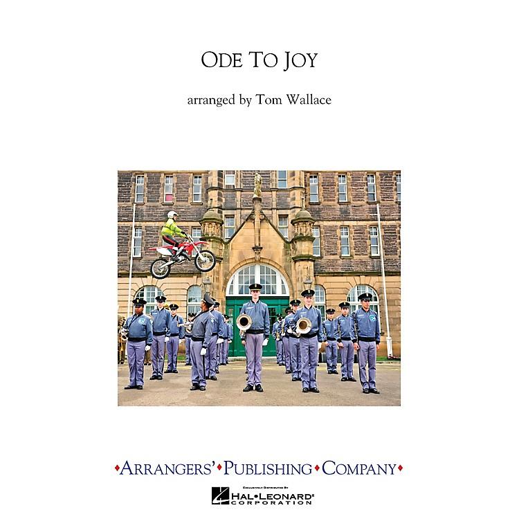 ArrangersOde To Joy Full Score Marching Band