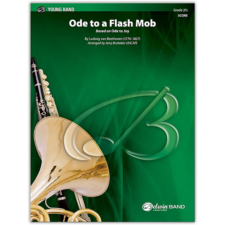 BELWINOde to a Flash Mob Conductor Score 2.5 (Easy to Medium Easy)