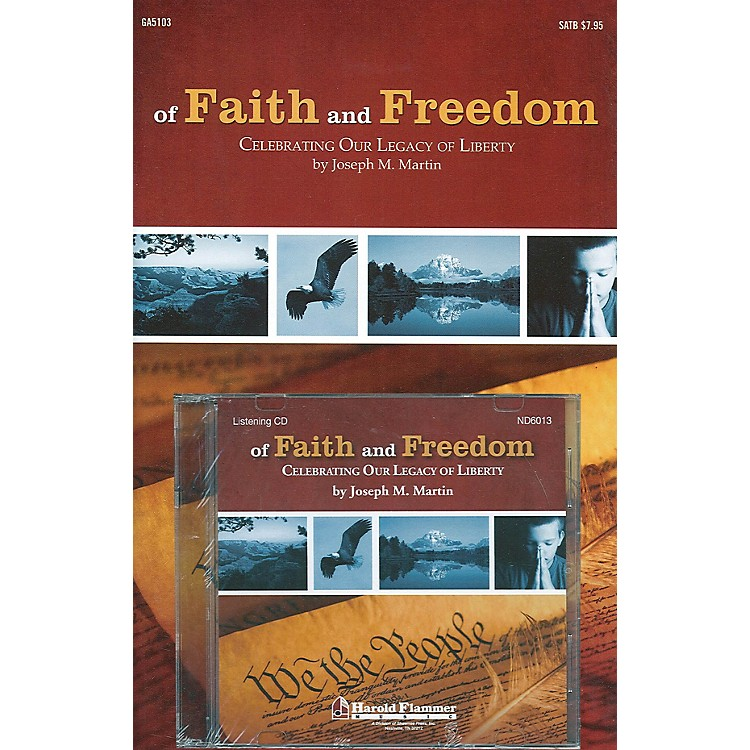 Shawnee Press Of Faith and Freedom (Preview Pak (Book/CD)) Preview Pak composed by Joseph M. Martin