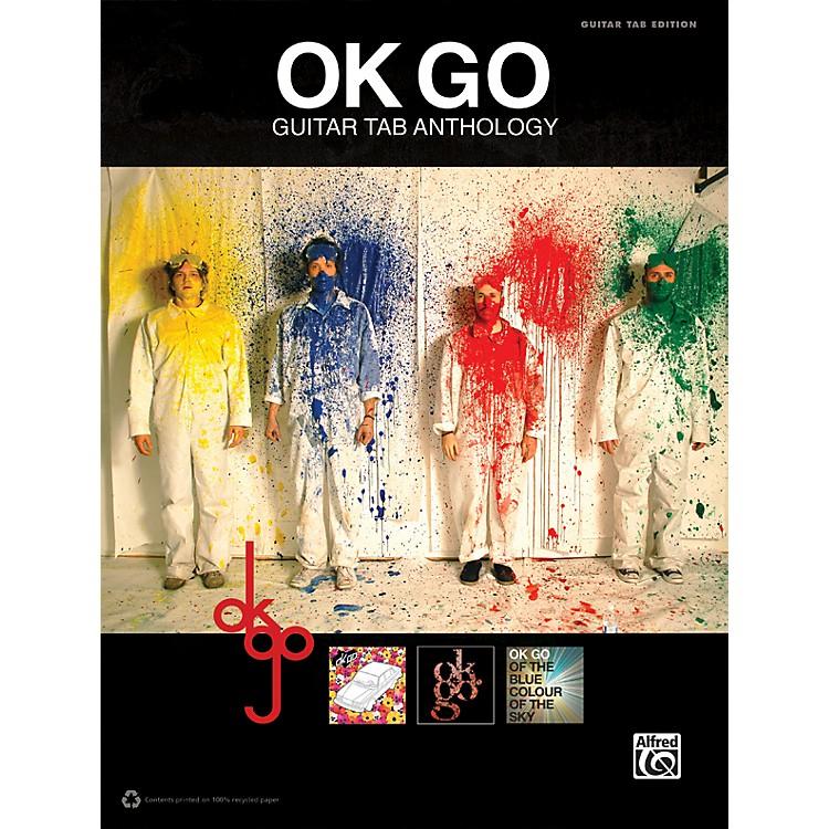 AlfredOk Go Guitar TAB Anthology