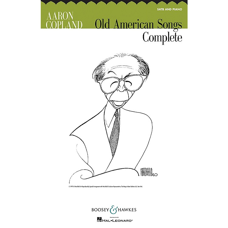 Boosey and HawkesOld American Songs Complete (SATB and Piano) SATB composed by Aaron Copland