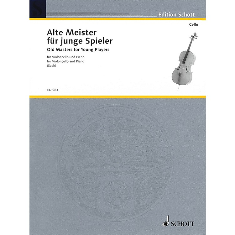 Schott Old Masters for Young Players Schott Series Composed by Various Arranged by Percy Such