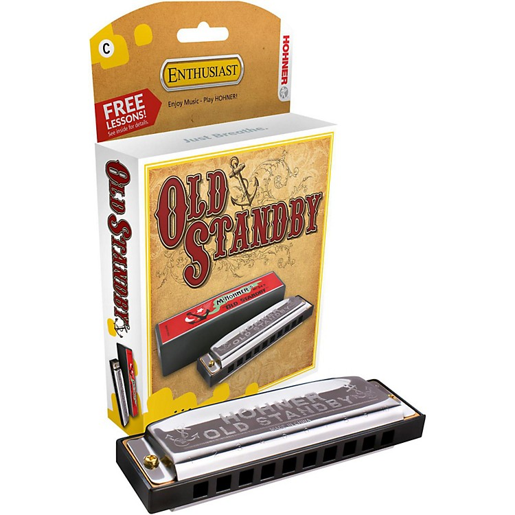 Hohner Old Standby Harmonica D