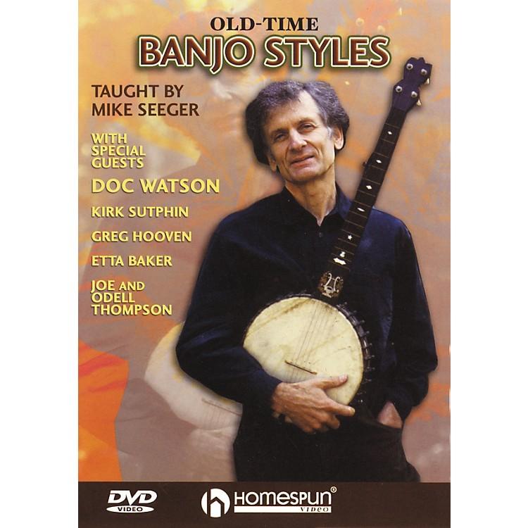 HomespunOld Time Banjo Styles (DVD)