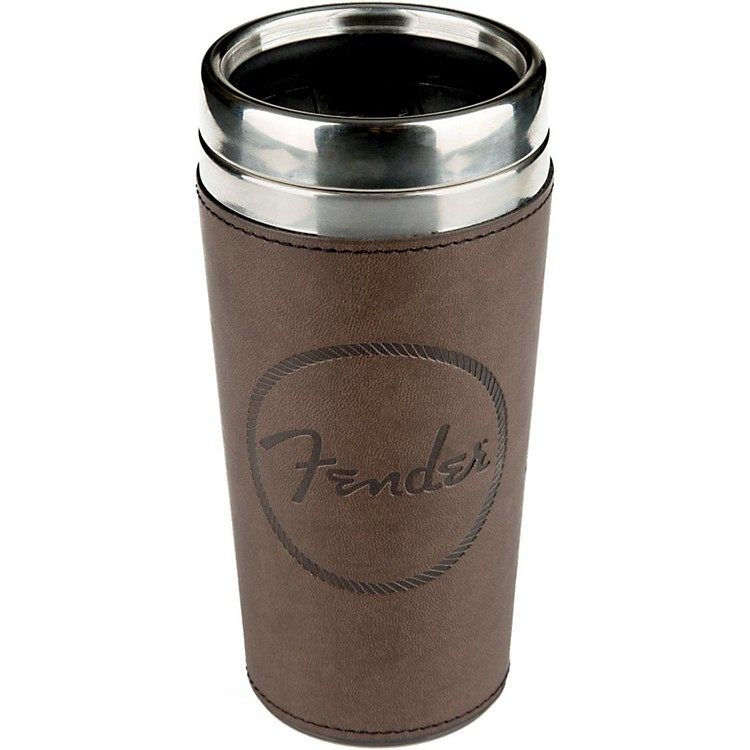 FenderOld West Travel Mug - Brown Leather