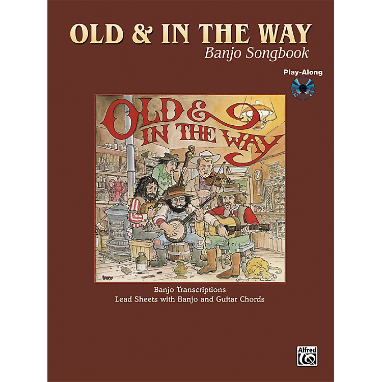 Alfred Old and In The Way Banjo & Guitar Chord Book with CD