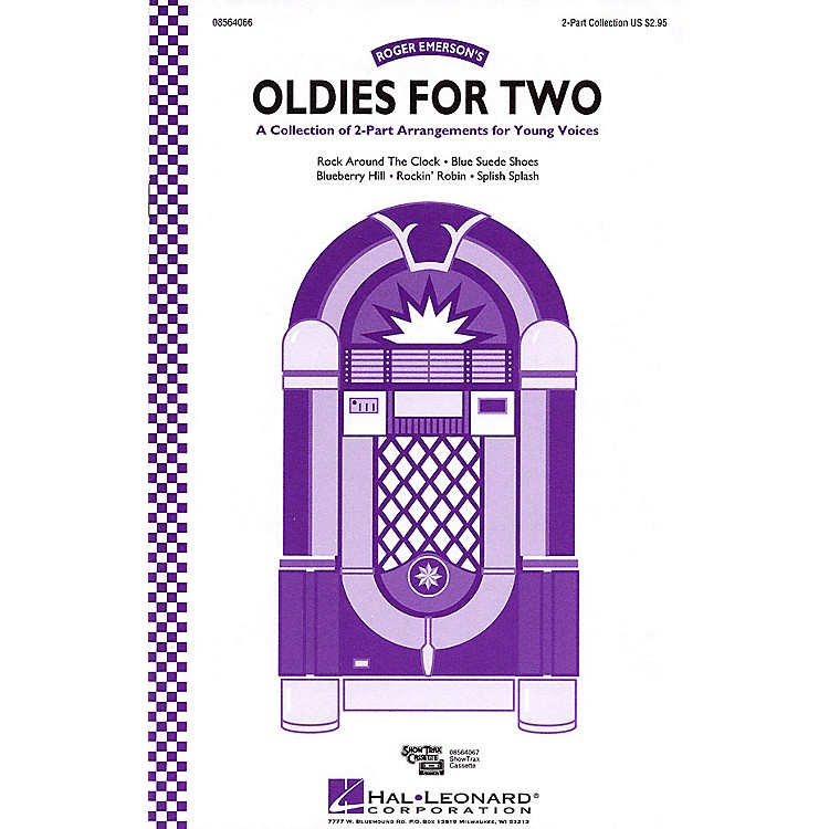 Hal Leonard Oldies for Two (Collection) 2-Part arranged by Roger Emerson