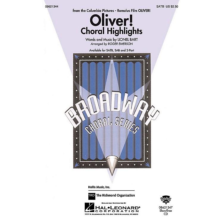 Hal LeonardOliver Choral Highlights 2-Part Arranged by Roger Emerson
