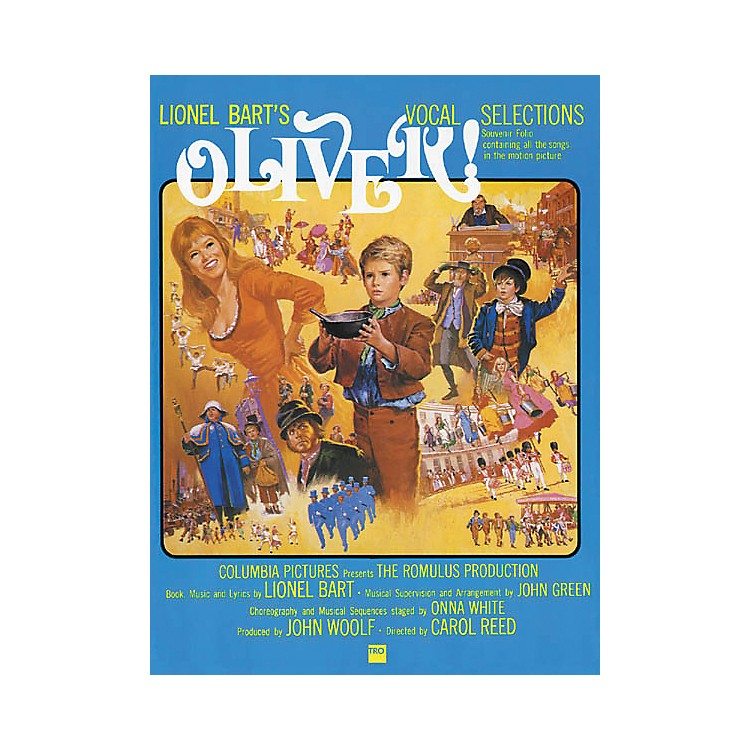 Richmond Organization Oliver! Vocal Selections Songbook