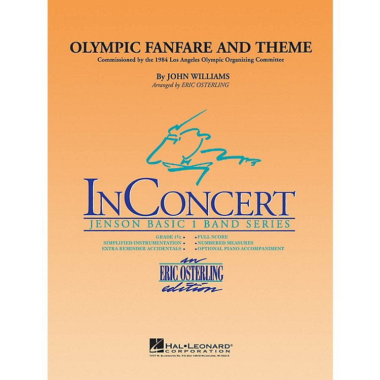 Hal LeonardOlympic Fanfare and Theme - Discovery Plus Concert Band Series Level 1 arranged by Eric Osterling