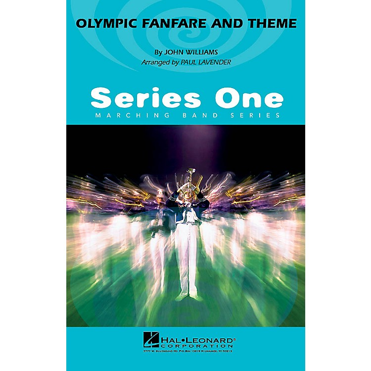 Hal LeonardOlympic Fanfare and Theme Marching Band Level 2-3 Arranged by Paul Lavender