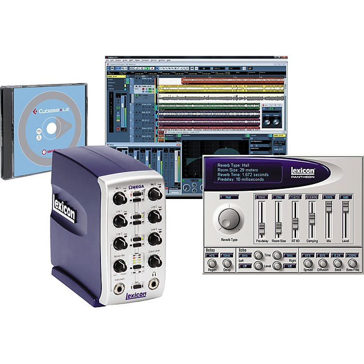 Lexicon Omega Desktop Recording Studio Bundle