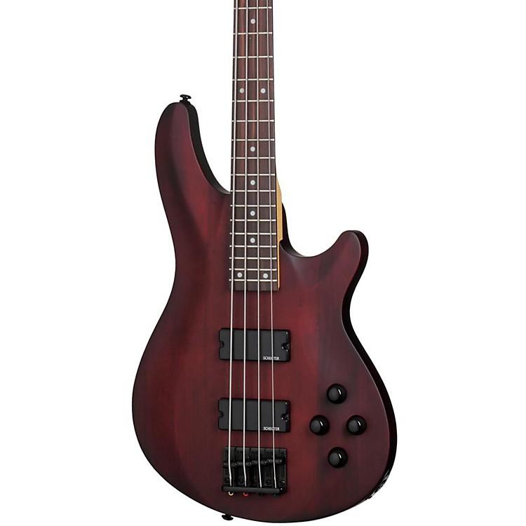 Schecter Guitar ResearchOmen-4 Electric Bass GuitarSatin Walnut