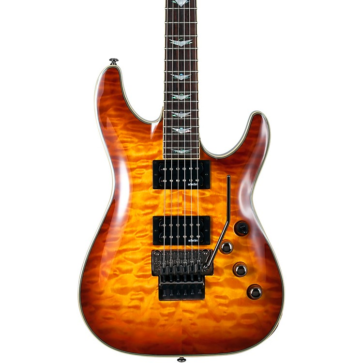 Schecter Guitar Research Omen Extreme-6 FR Electric Guitar Vintage Sunburst