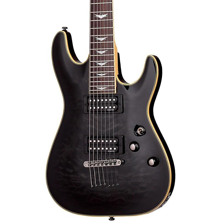 Schecter Guitar ResearchOmen Extreme-7 Electric GuitarSee-Thru Black