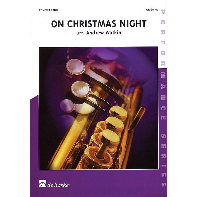 De Haske MusicOn Christmas Night Concert Band Gr 1.5 Full Score Concert Band
