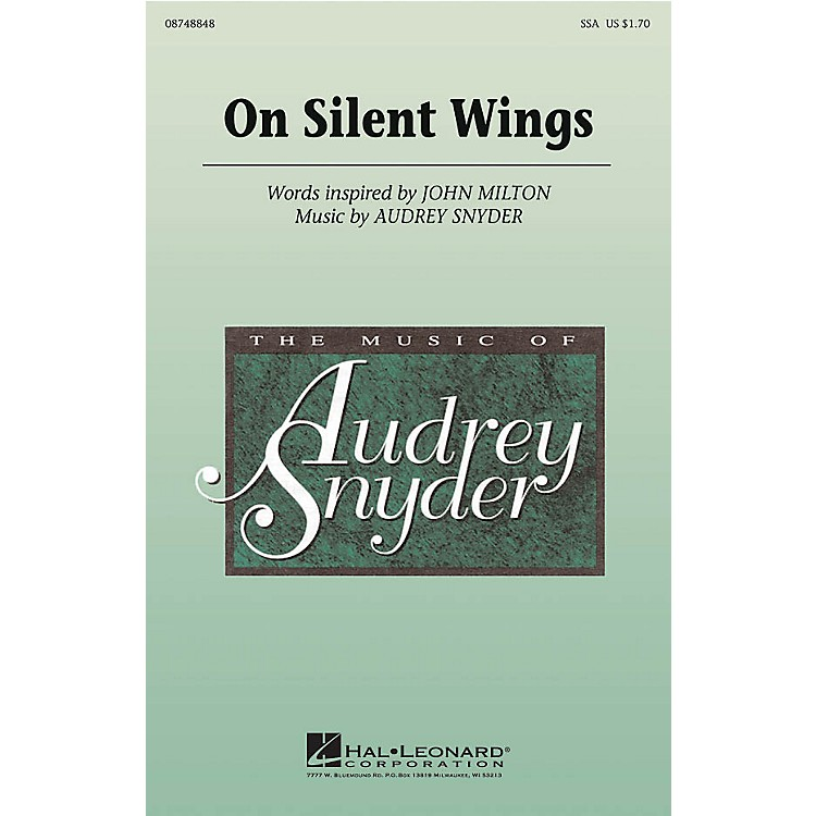 Hal LeonardOn Silent Wings SSA composed by Audrey Snyder