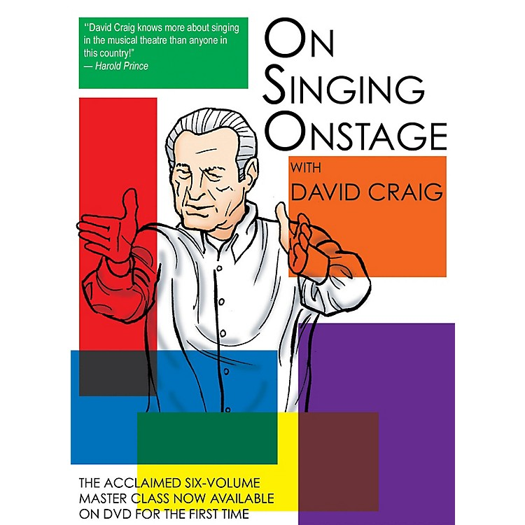 Applause BooksOn Singing Onstage Applause Acting Series Series DVD Written by David Craig