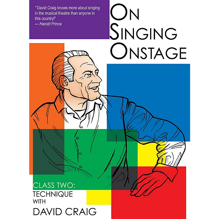 Applause BooksOn Singing Onstage (Class Two: Technique) Applause Acting Series Series DVD Written by David Craig