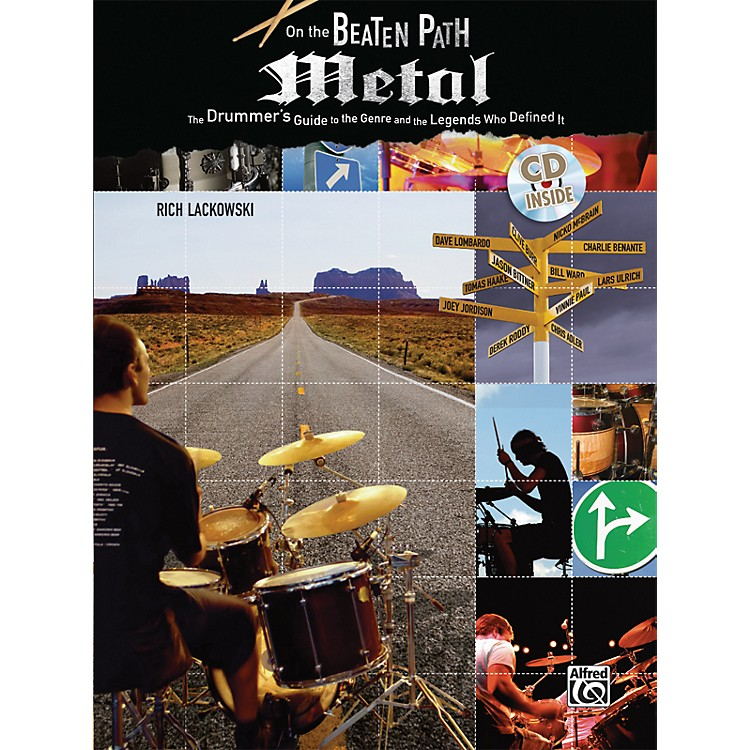 AlfredOn The Beaten Path: Metal - The Drummer's Guide (Book/CD)