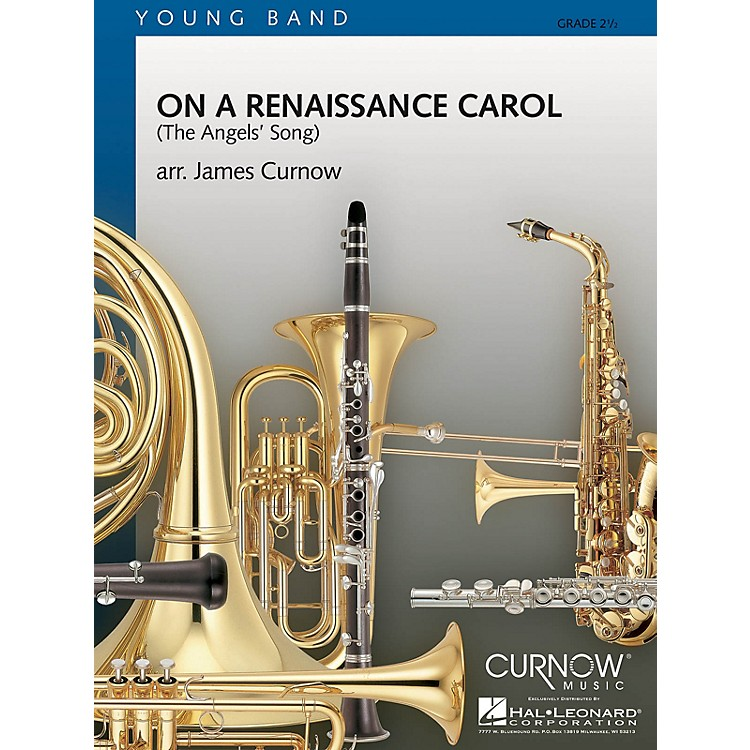 Curnow MusicOn a Renaissance Carol (Grade 2.5 - Score Only) Concert Band Level 2.5 Composed by James Curnow