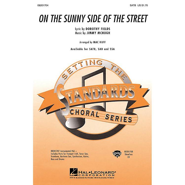 Hal LeonardOn the Sunny Side of the Street Combo Parts Arranged by Mac Huff
