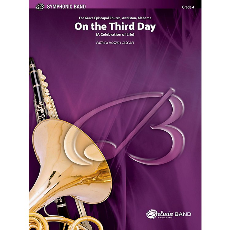 BELWIN On the Third Day Concert Band Grade 4 (Medium)