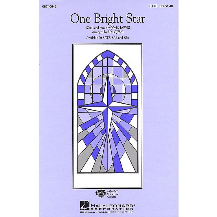 Hal LeonardOne Bright Star SATB by Vince Gill arranged by Ed Lojeski