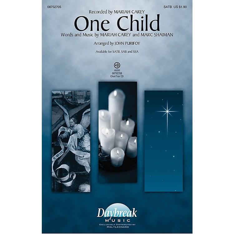 Daybreak MusicOne Child SAB by Mariah Carey Arranged by John Purifoy