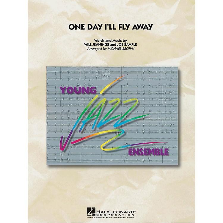 Hal LeonardOne Day I'll Fly Away Jazz Band Level 3 Arranged by Michael Brown