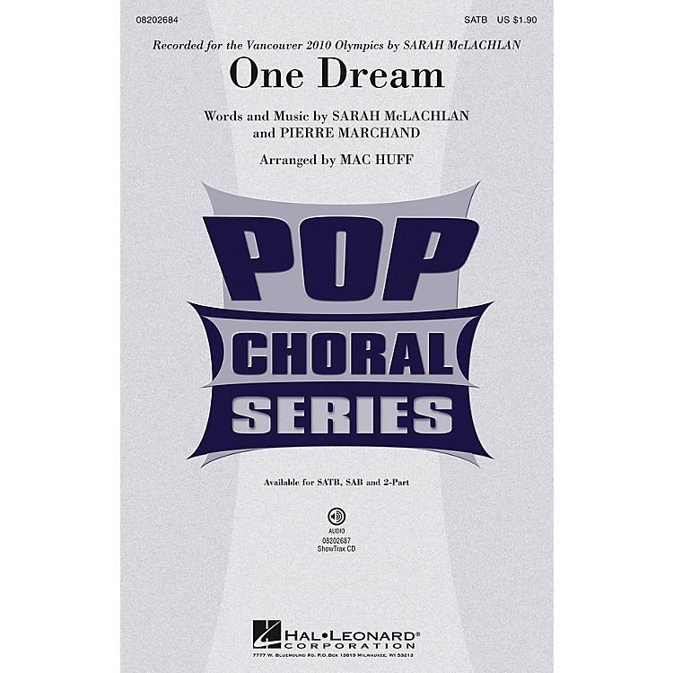 Hal LeonardOne Dream SATB by Sarah McLachlan arranged by Mac Huff