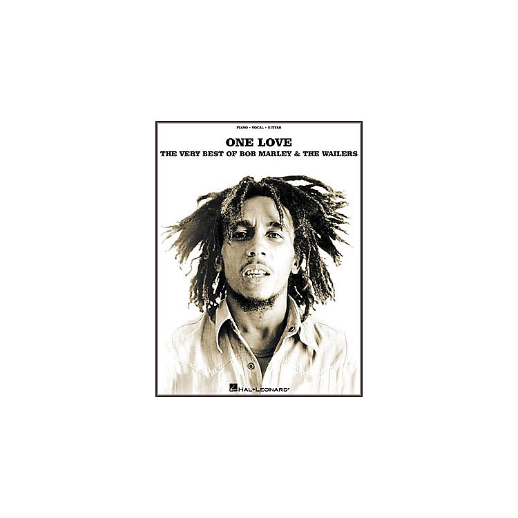 Hal LeonardOne Love - The Very Best of Bob Marley and The Wailers Piano/Vocal/Guitar Artist Songbook