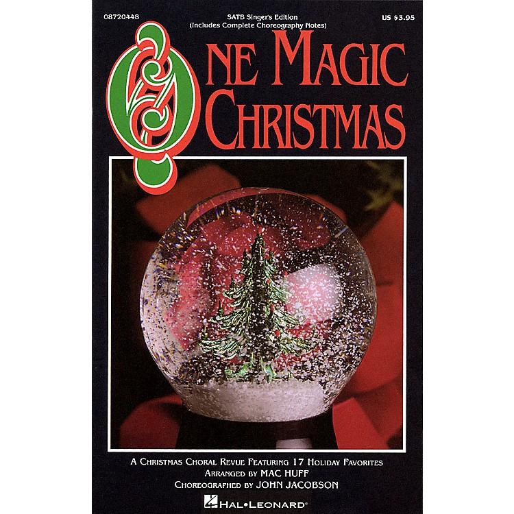 Hal LeonardOne Magic Christmas (Feature Medley) SATB Singer arranged by Mac Huff