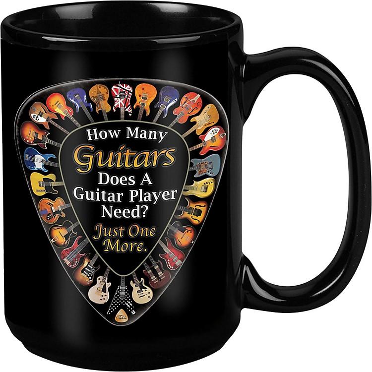TabooOne More Guitar Black Mug 15 oz