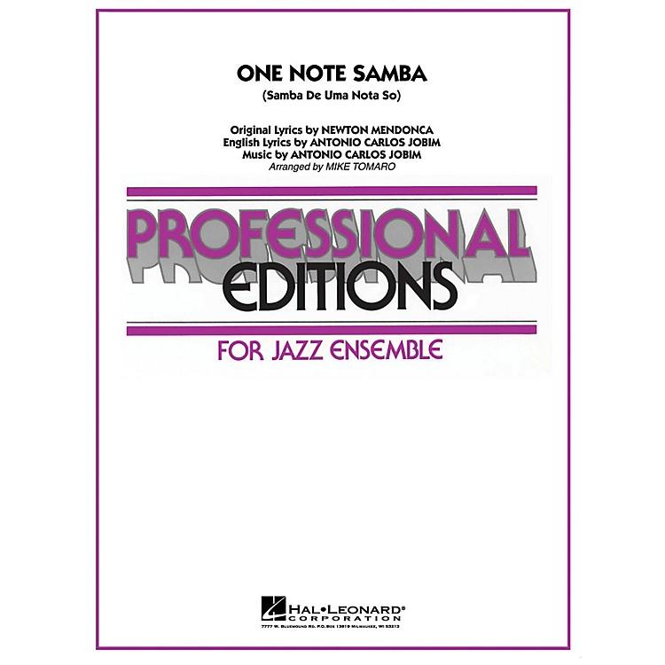 Hal LeonardOne Note Samba Jazz Band Level 5 Arranged by Mike Tomaro