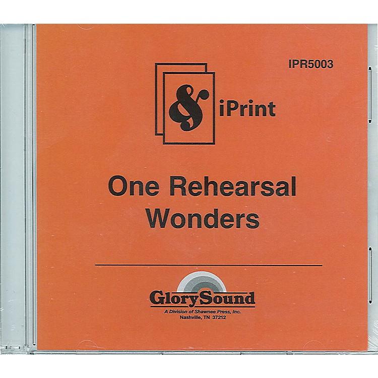 Shawnee PressOne Rehearsal Wonders (iPrint Orchestration CD) Score & Parts