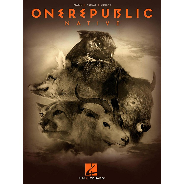 Hal LeonardOneRepublic - Native Piano/Vocal/Guitar