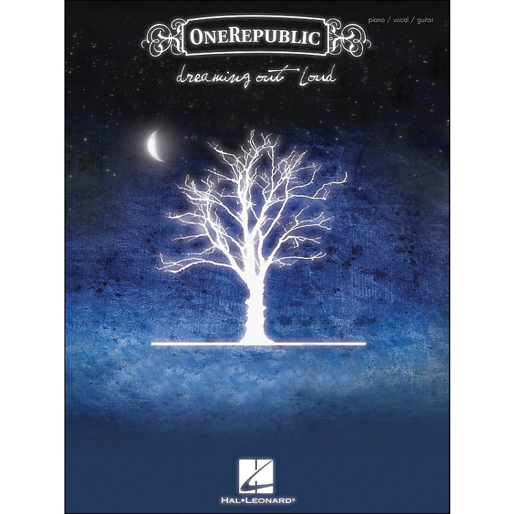Hal Leonard OneRepublic Dreaming Out Loud arranged for piano, vocal, and guitar (P/V/G)