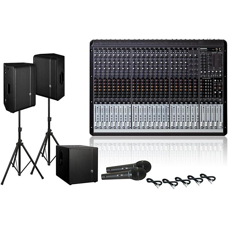 MackieOnyx 24.4 / HD1221 / HD1501 PA Package