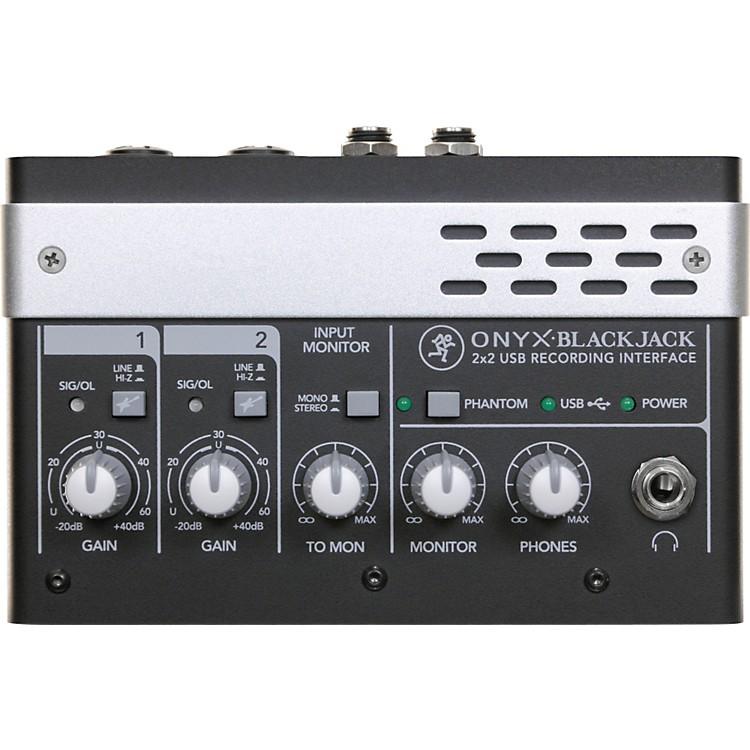 MackieOnyx Blackjack Premium 2x2 USB Recording Interface