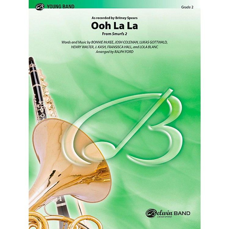Alfred Ooh La La (from Smurfs 2) Concert Band Level 2 Set