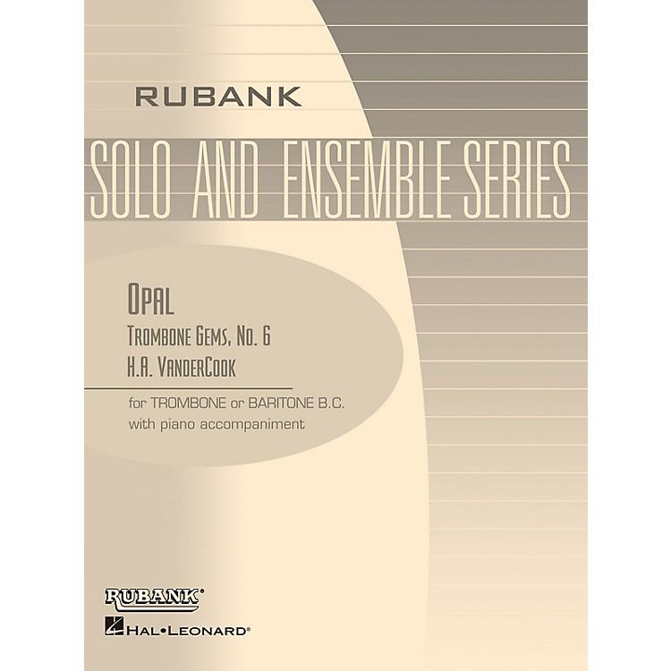 Rubank PublicationsOpal (Trombone (Baritone B.C.) Solo with Piano - Grade 2) Rubank Solo/Ensemble Sheet Series