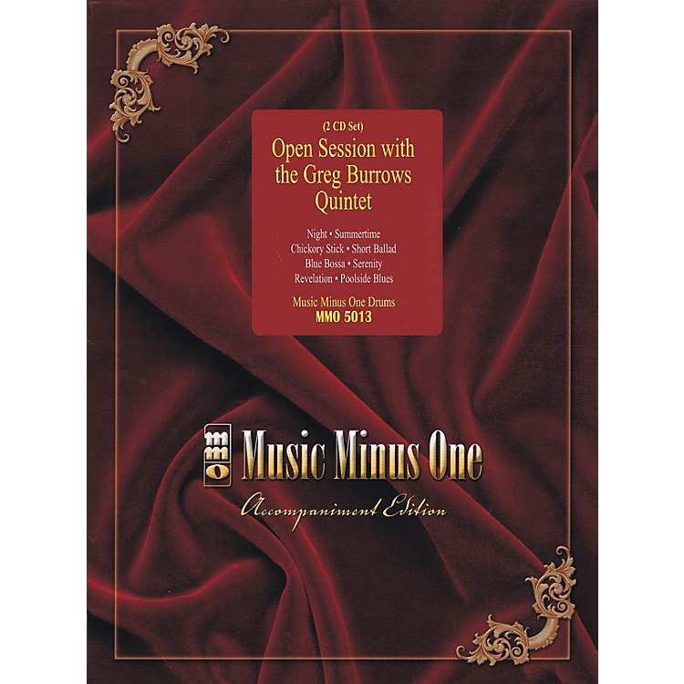 Music Minus OneOpen Session with the Greg Burrows Quintet Music Minus One Series Softcover with CD by Greg Burrows